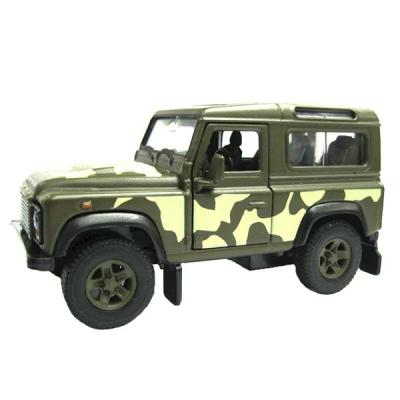 Модель Land Rover Defender военная 42392