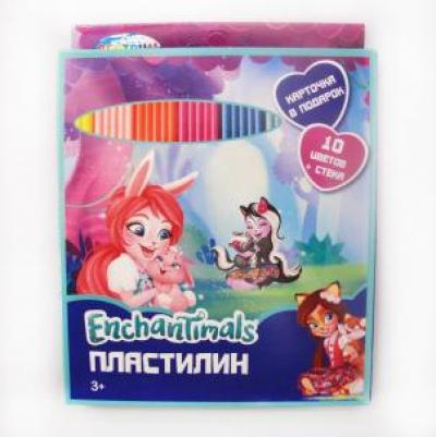 Пластилин 10 цв. Enchantimals 88616