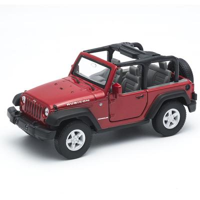 Модель Jeep Wrangler Rubicon 42371 1:34-